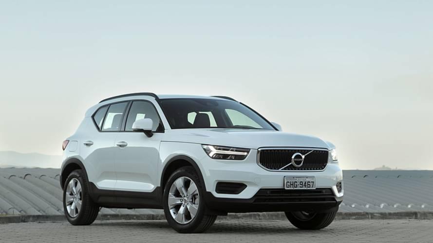 Volvo estuda SUVs abaixo do XC40 e acima do XC90