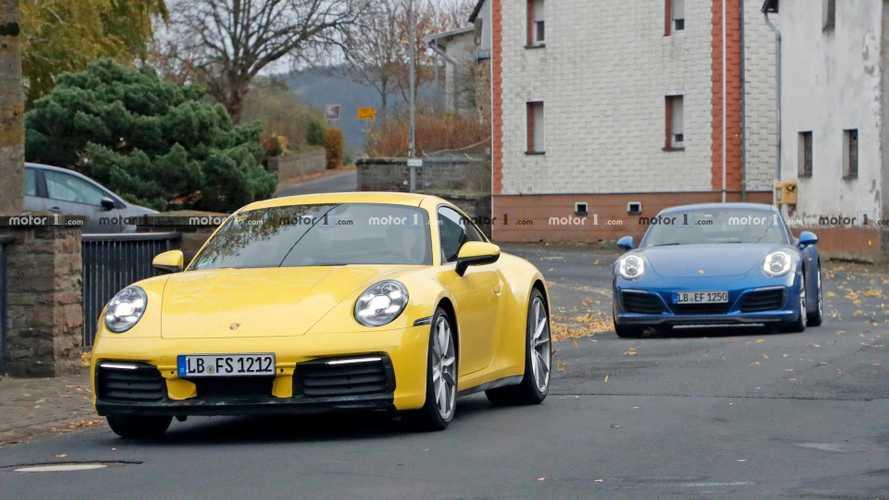 2019 Porsche 911, güncel model ile birlikte görüntülendi