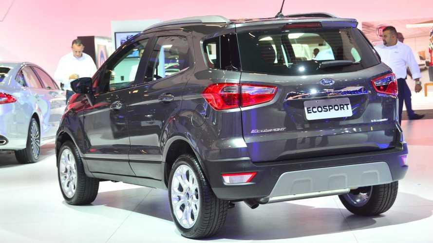 Salão de SP: Ford EcoSport ganha versão sem estepe na traseira