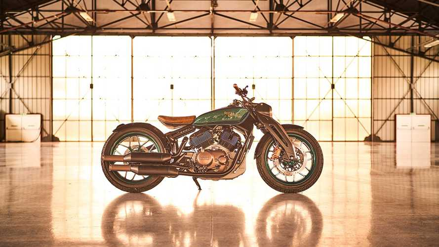 Here's A Much Clearer Look At The Upcoming Royal Enfield KX650