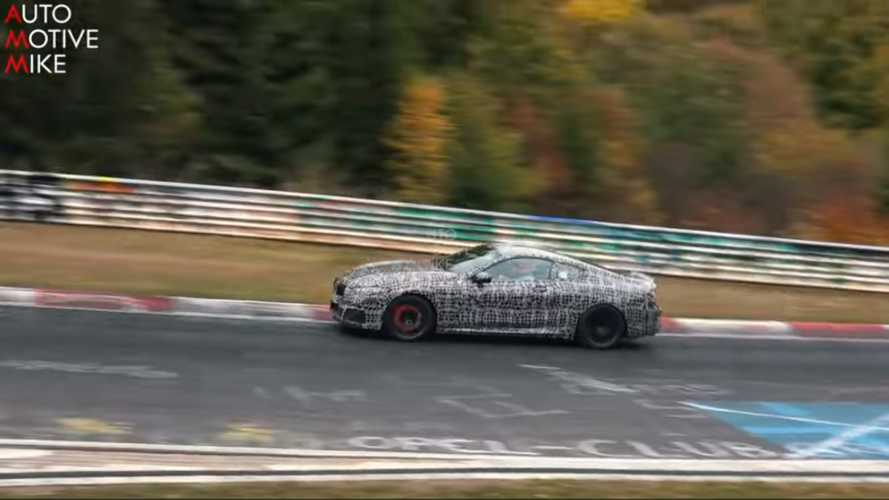 BMW M8 Spy Screenshots At The Nürburgring