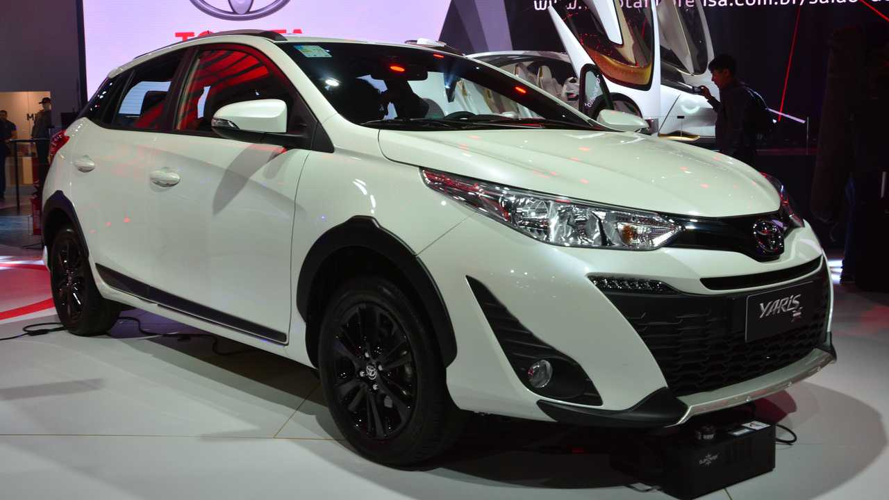 Toyota Yaris X-Way - Salão de SP 2018