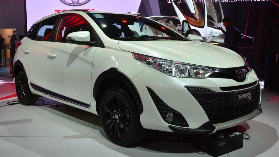 Salão de SP: Toyota amplia família Yaris com nova versão X-Way