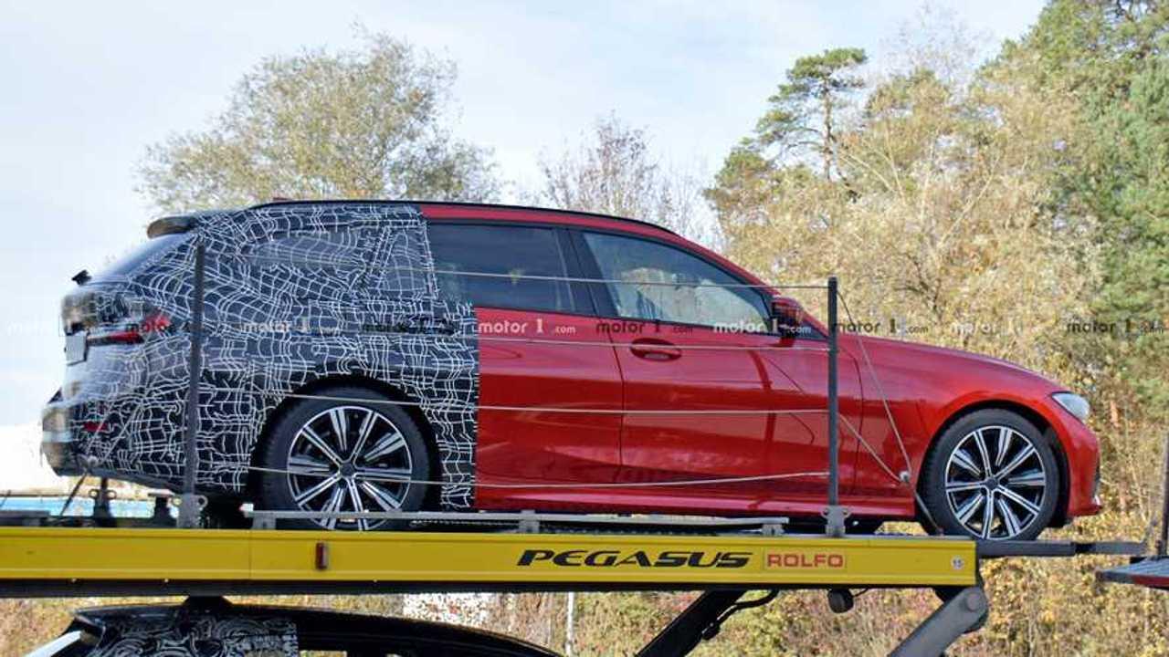 BMW 3 Series Sport Wagon Spy Photos