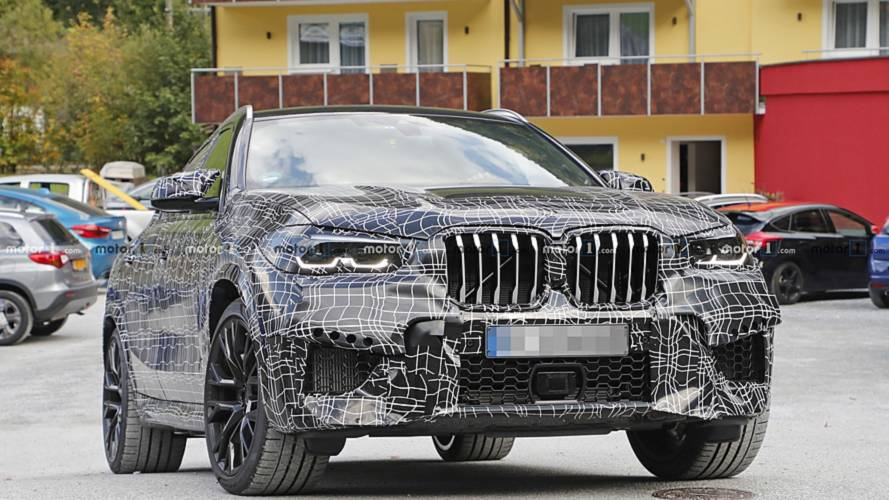 2020 BMW X6 M spy photos