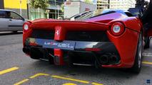 Ferrari LaFerrari Aperta on the road