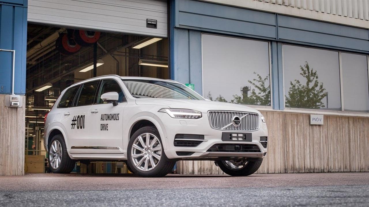Volvo Drive Me XC90 #001
