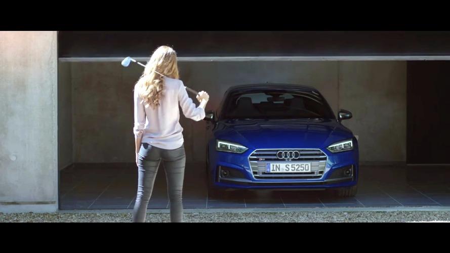 Audi S5, yeni reklamda aldatılmış kadının gazabından kurtuluyor