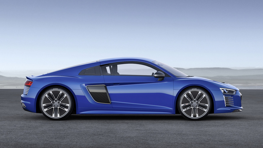 Audi Talks R8 e-tron From Geneva,