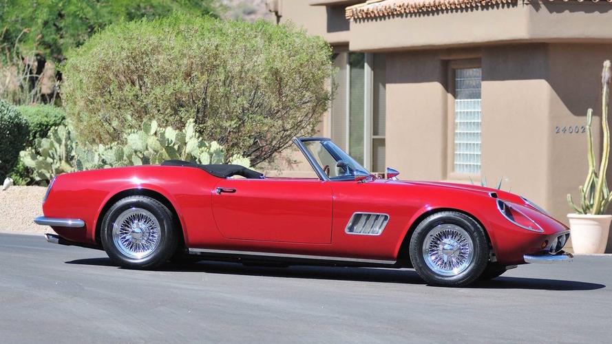 Ferris Bueller's infamous Ferrari headed for auction