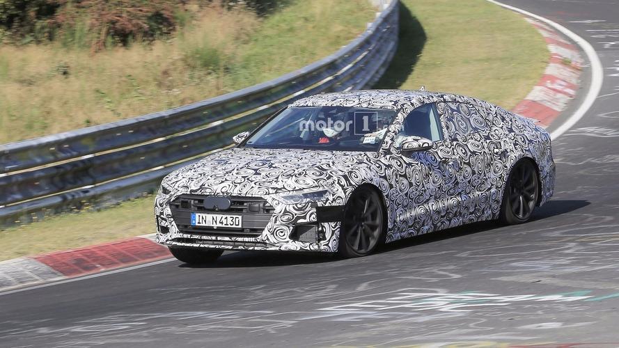 Audi S7 Sportback 2018 - Surprise en plein essai sur le Nürburgring