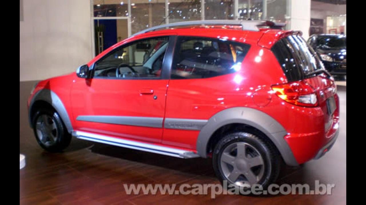Salão do Automóvel 2008 - Ford leva o Novo KA Trail para testar receptividade