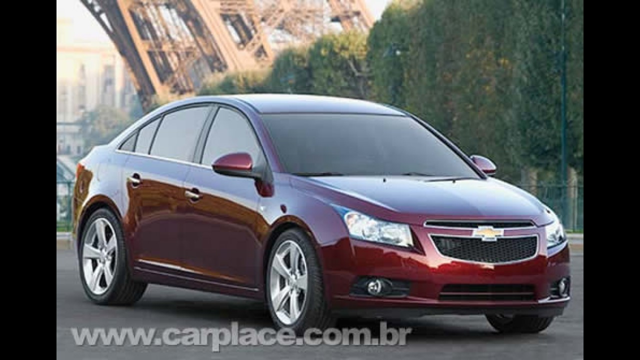 Carro Global - GM confirma chegada do novo Cruze para abril de 2009 na Europa