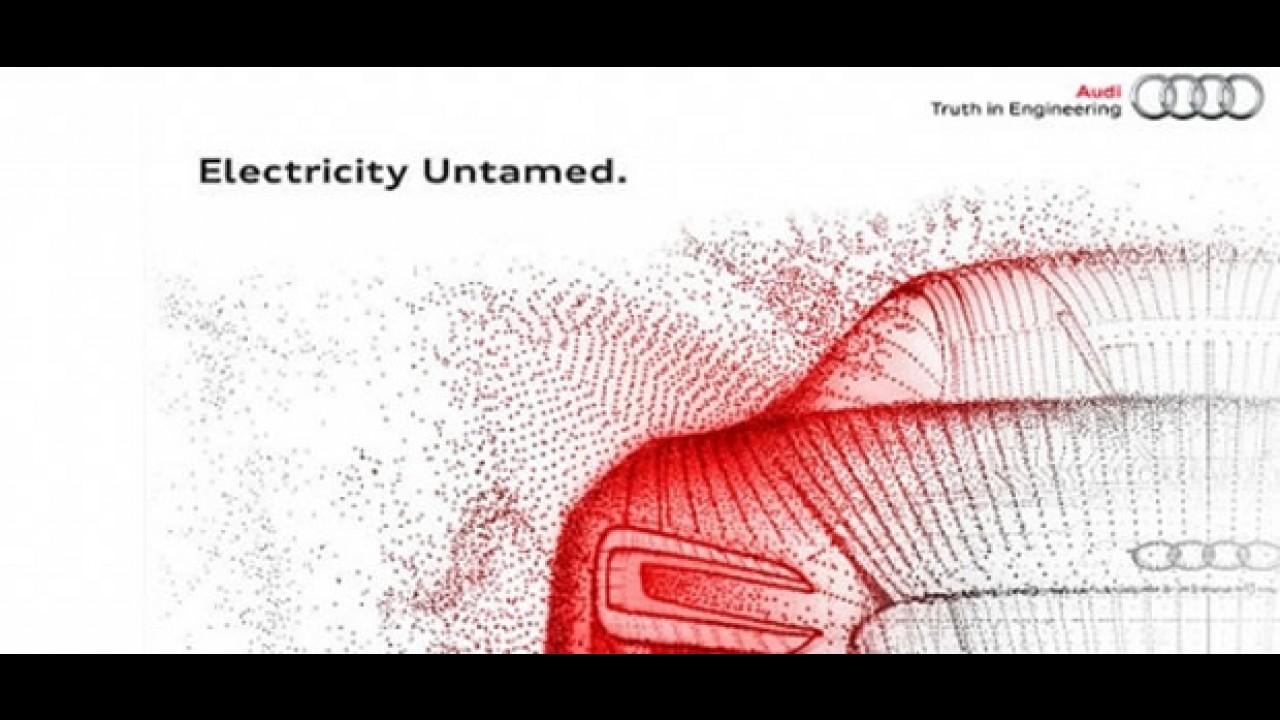 Audi divulga teaser de conceito elétrico que mostrará em Frankfurt - CEO diz que Volt é para idiotas