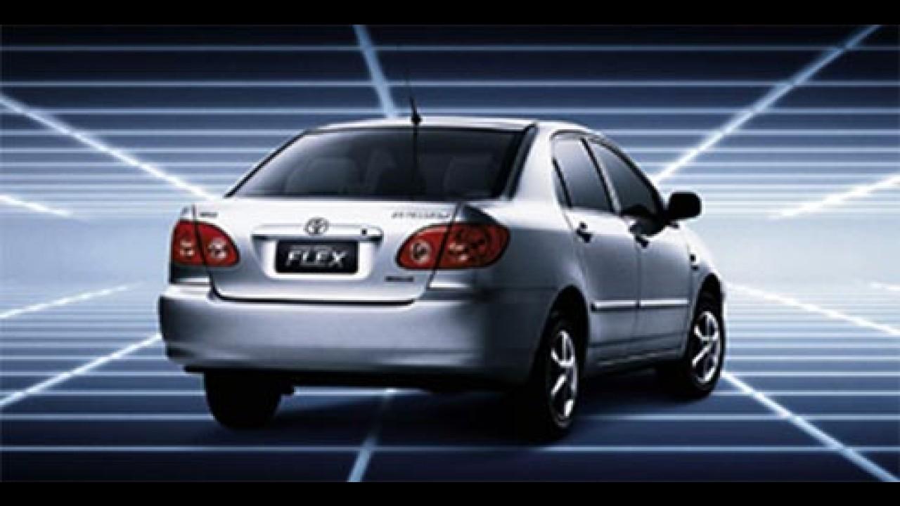 Promoção da Toyota dá TV LCD de 42 polegadas para compradores de Corolla e Fielder
