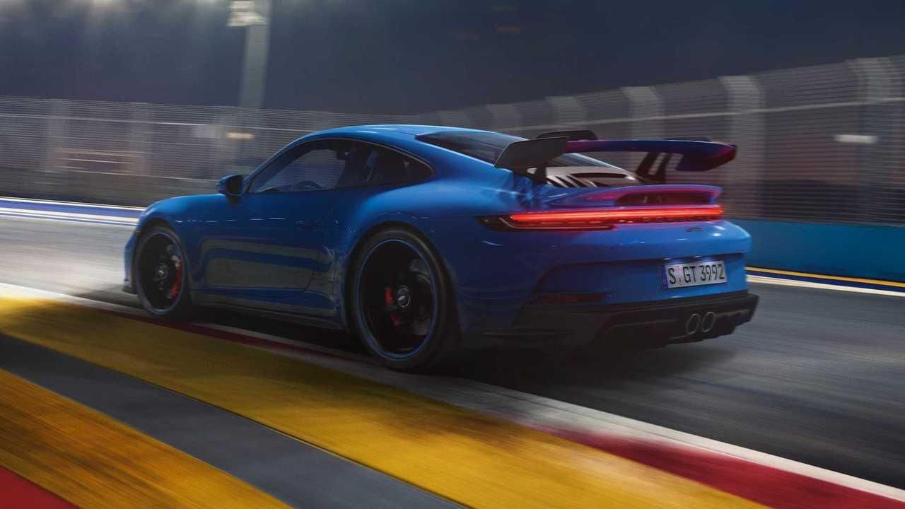 2022 Porsche 911 GT3 Hintere Ecke