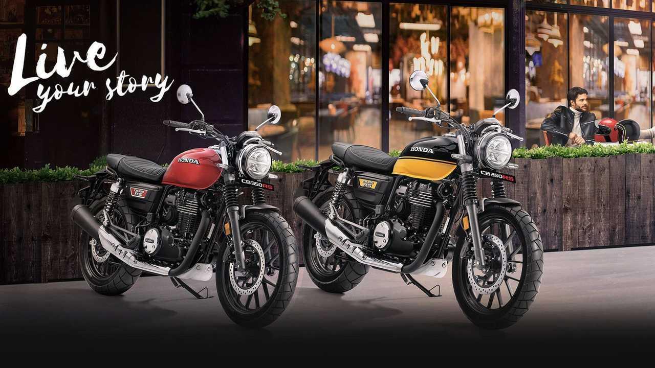 2021 Honda CB350 RS, Main