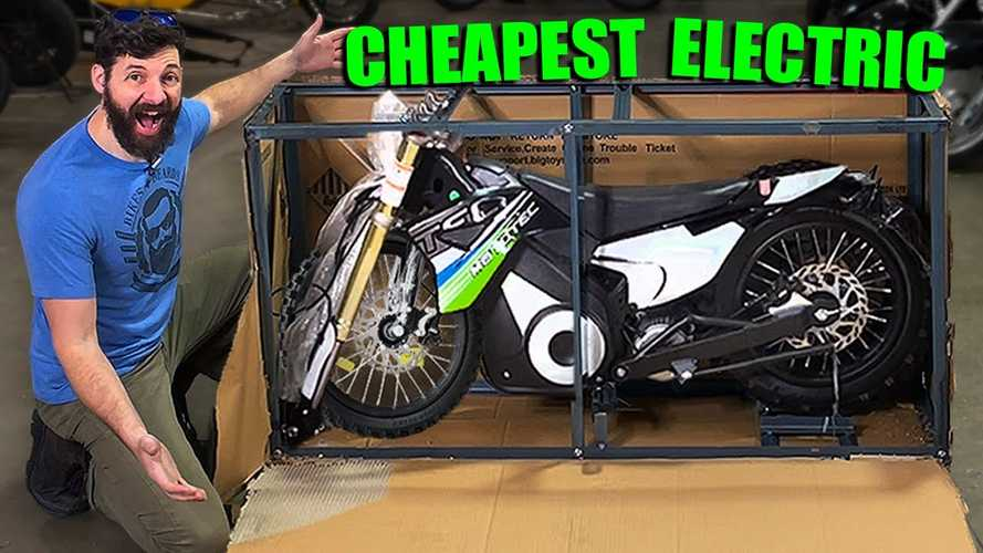 "The Cheapest Electric ""Pit Bike"" On The Internet Is Not All That"