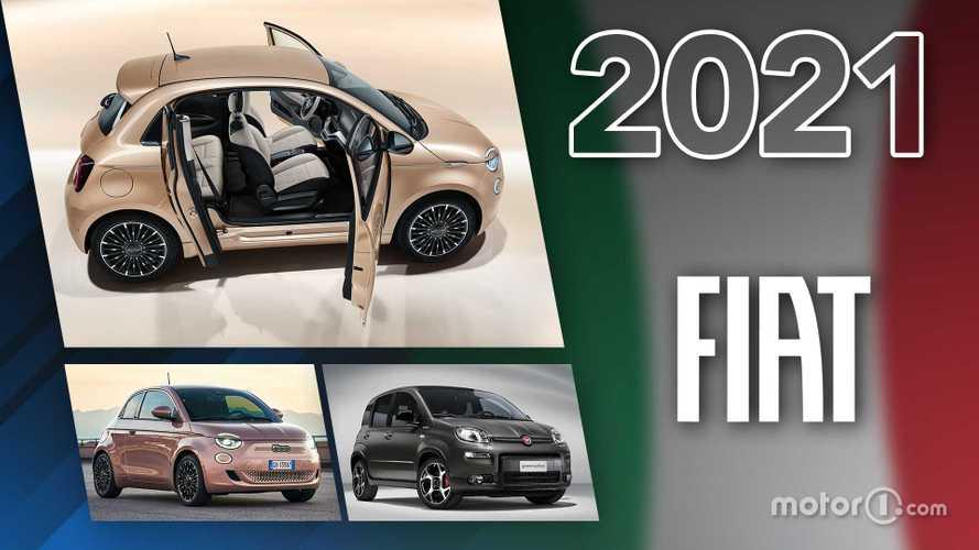 Novità Fiat, ecco tutti i modelli in arrivo nel 2021