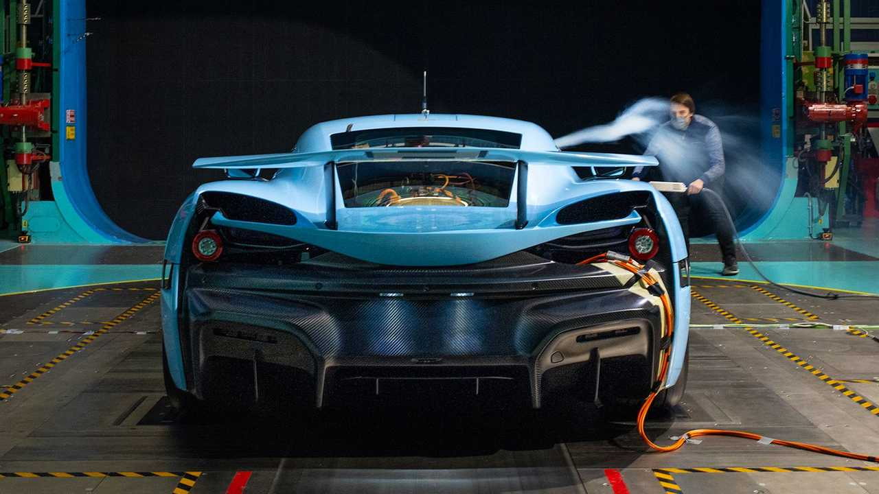 Rimac C_Two Aerodynamic Testing
