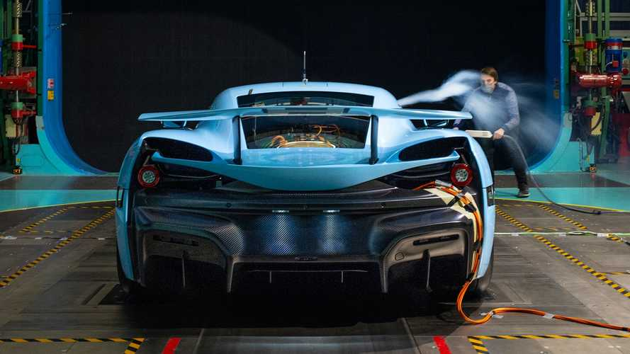 Rimac C_Two undergoes final wind tunnel testing ahead of debut