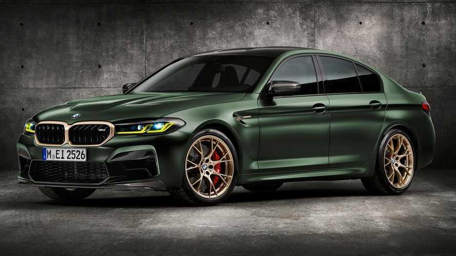 Disfruta de una vuelta a Nürburgring con el nuevo BMW M5 CS