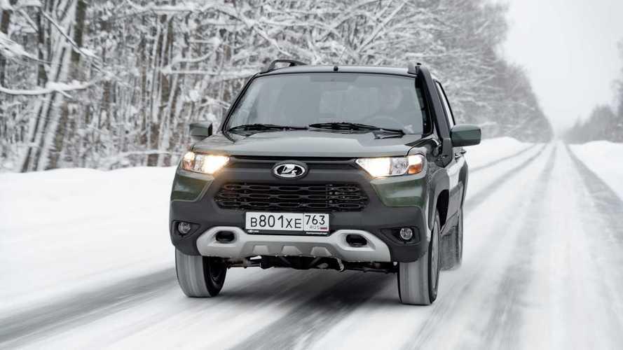 ¿Te marcarías una salida 4x4 con el Lada Niva Travel?