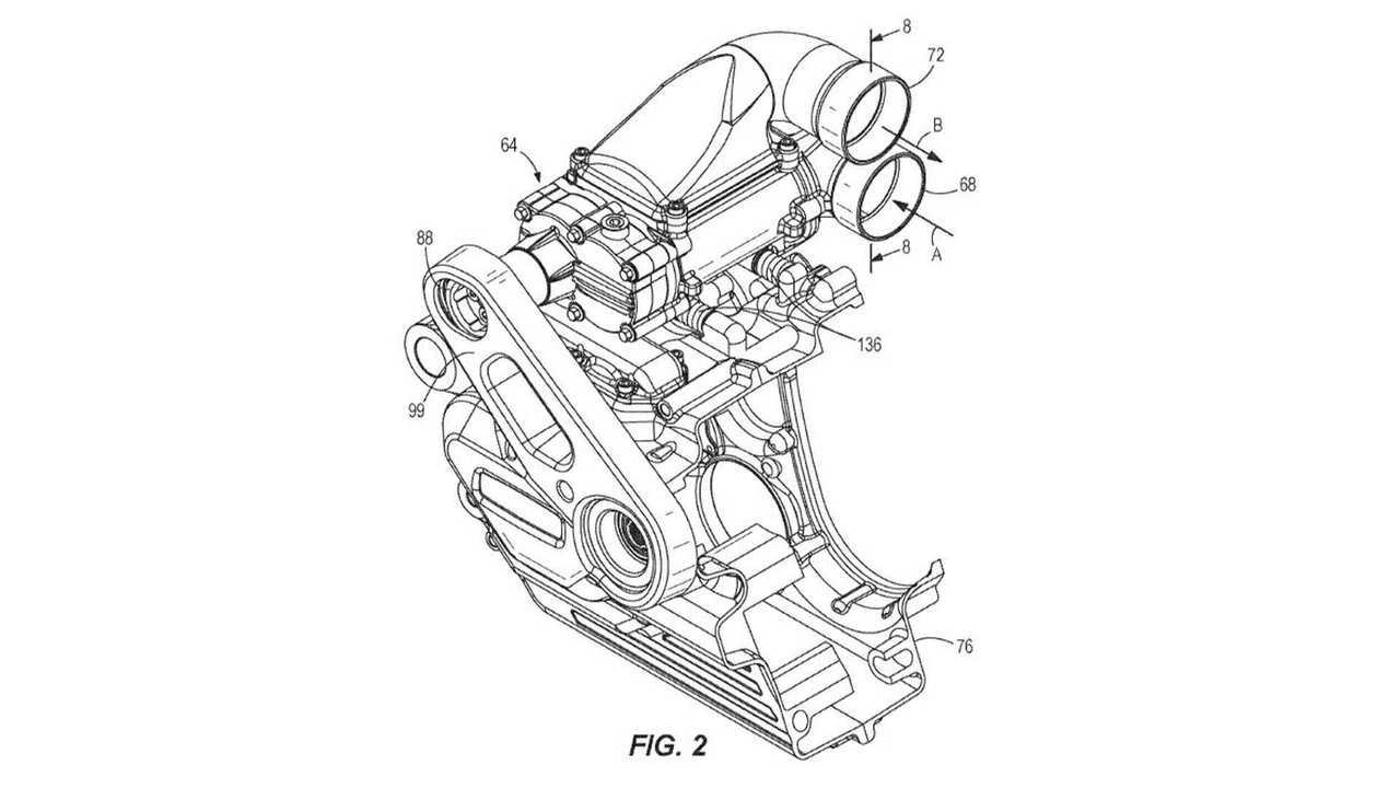 Harley-Davidson Supercharger Patent - Fig. 2