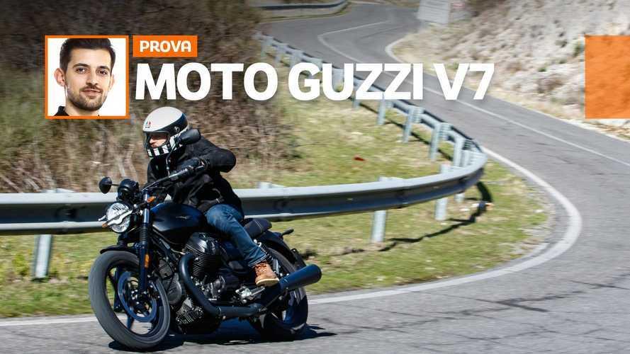 Moto Guzzi V7 Stone e V7 Special 2021 - TEST