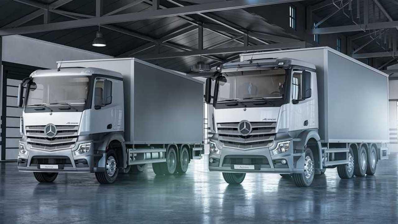 Mercedes-Benz Actros-Nakliye