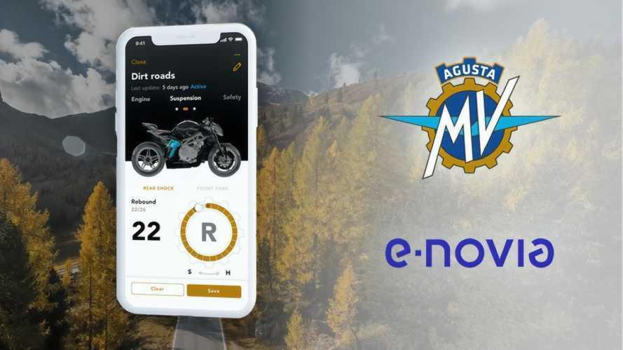 MV Agusta Is Collaborating With E-Novia On Future App Development