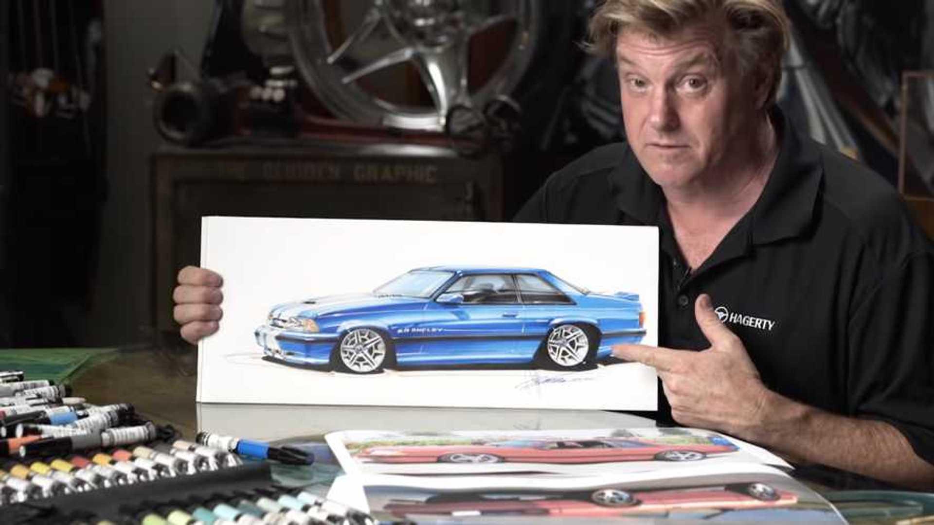 Chip Foose Imagines A Carroll Shelby-Design Fox Body Mustang