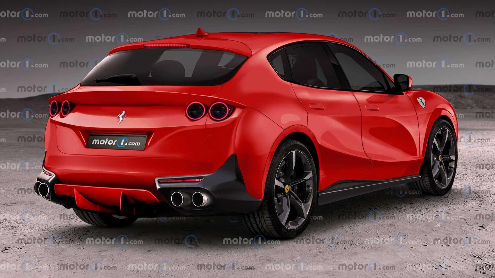 Ferrari Purosangue So Könnte Das Suv Von Ferrari Aussehen