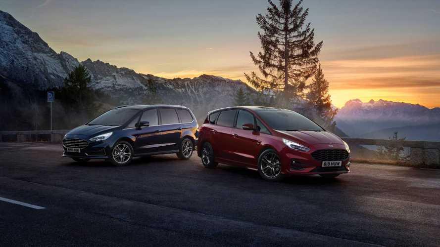 Ford S-MAX Hybrid 2021, electrificado y con siete plazas