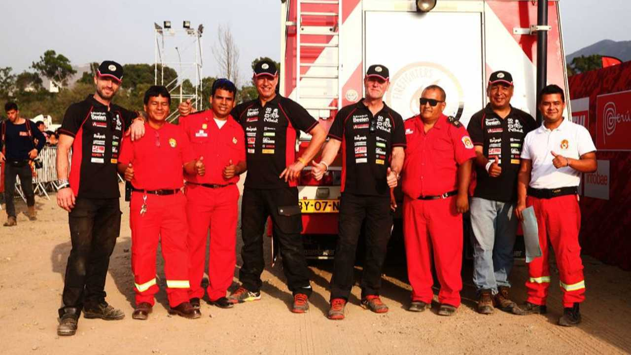 The Dakar Rally Has Charity