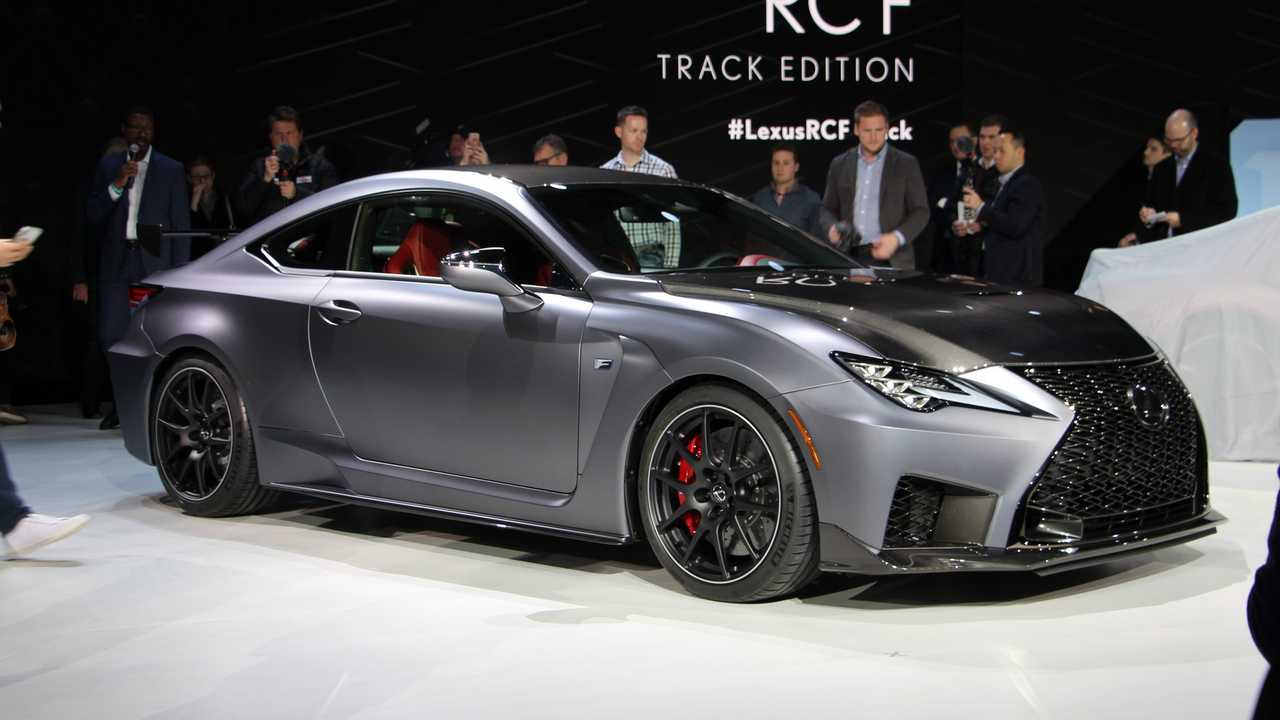 2019 Lexus RC F Track Edition Detroit'te
