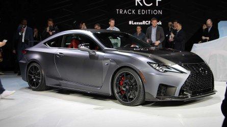 Sınırlı sayıda üretilecek Lexus RC F Track Edition Detroit'te [GÜNCEL]