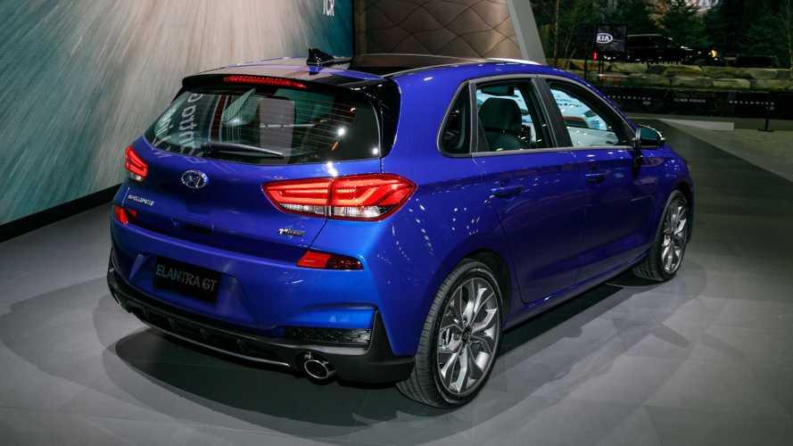 2020 Hyundai Elantra N Line Motor1 Com Photos