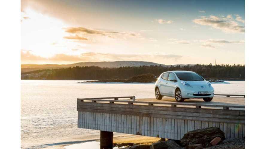 Nissan LEAF Is Best Selling Car In Norway Again In January!