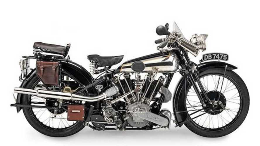 Insanely Priced Legendary British V-Twins Go On Sale At Bonhams