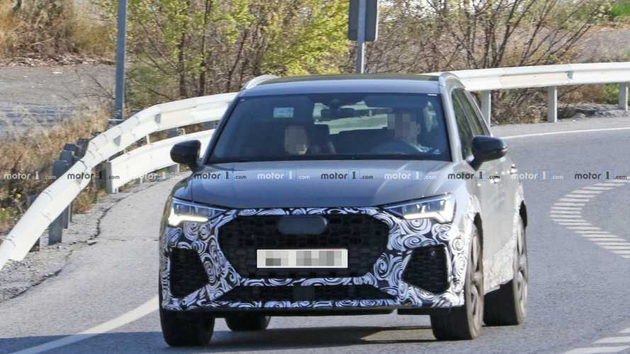 Nuova Audi RS Q3, le foto spia