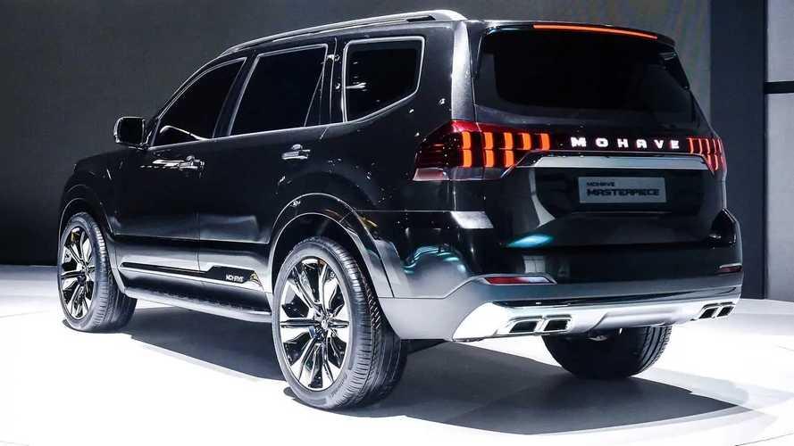 Kia'nın Büyük SUV Konsepti Masterpiece (2019 Seoul Otomobil Fuarı)