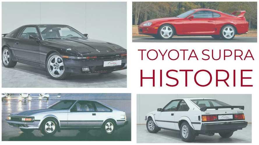 Toyota Supra: Alle alten Modelle im Überblick