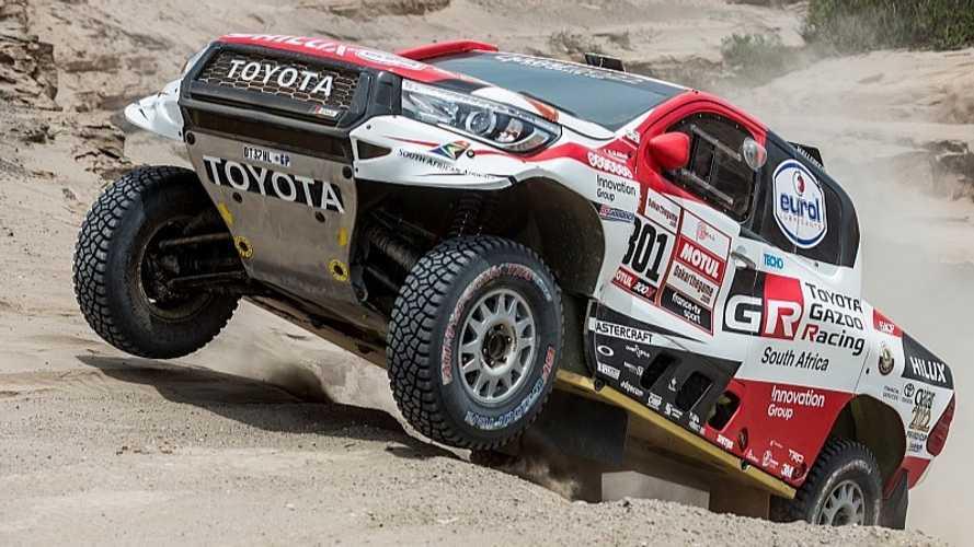 Toyota prepara un plan por si Alonso decide correr el Dakar