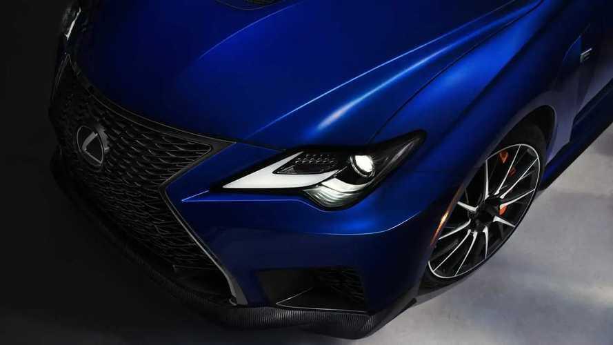 Az új Lexus RC F