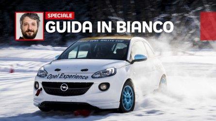 La guida sulla neve con Opel