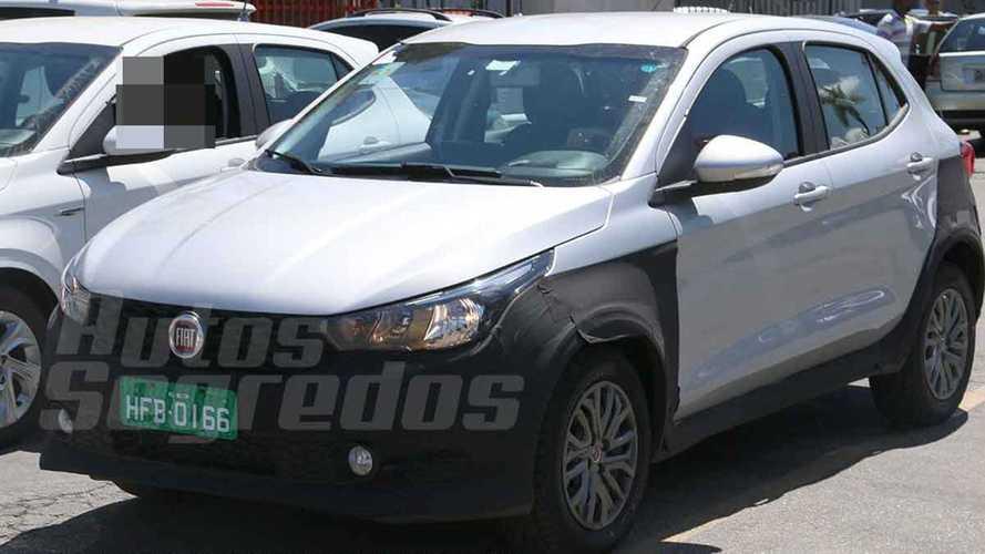 Flagra: Fiat Argo aventureiro terá motor 1.3 e câmbio automático