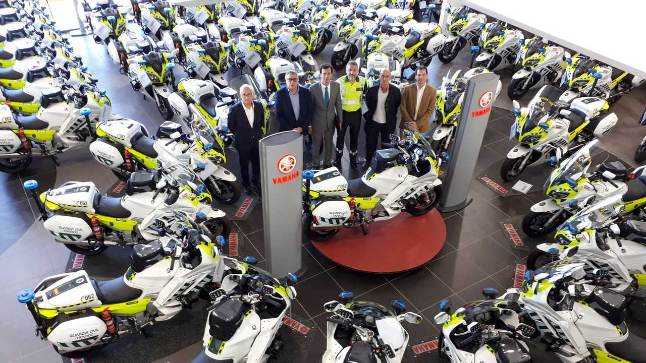 Yamaha FJR 1300 Guardia Civil de Tráfico