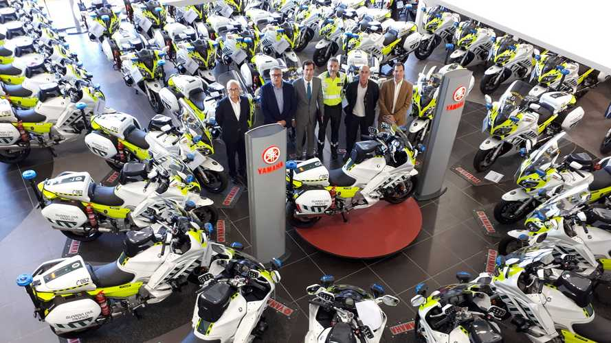 La Guardia Civil estrena sus Yamaha FJR1300