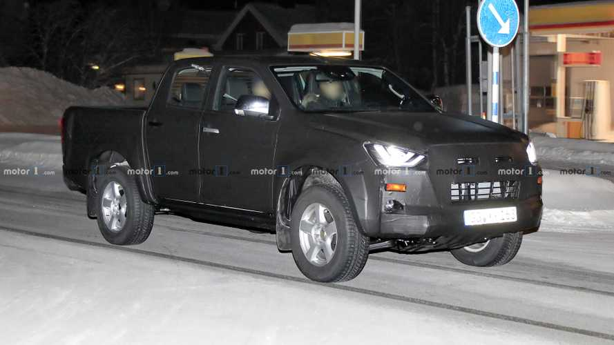 New Isuzu D-Max spied with full-LED headlights